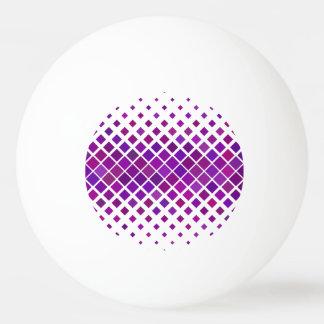 Violet Diamonds Ping Pong Ball