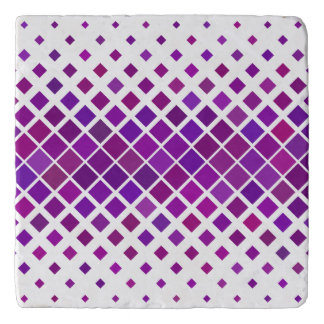 Violet Diamonds Trivet