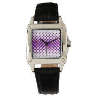 Violet Diamonds Watch