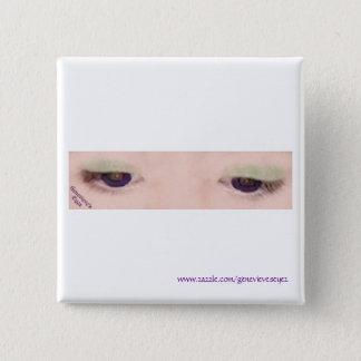 Violet Eye Square Button