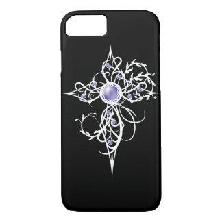 Violet Fantasy Angel Light Cross Case-Mate iPhone Case