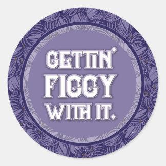 Violet Figs Sticker
