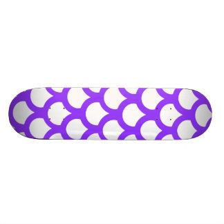 Violet Fish Scale 1 Skate Boards