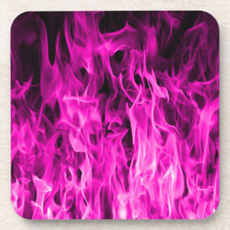 Violet flame and violet fire products and apparel coaster