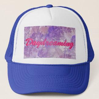 Violet Floral Daydreaming Trucker Hat
