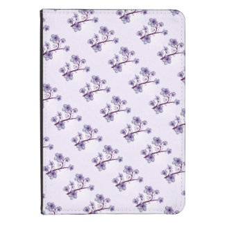 Violet Floral Kindle Folio Kindle Touch Cover