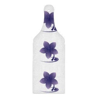 Violet flower cutting board