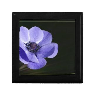 Violet flower gift box