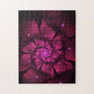 Violet Flower Jigsaw Puzzle