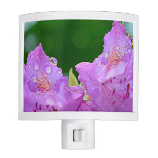 Violet Flower Nite Light