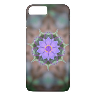 Violet Flower Reflections iPhone 7 Plus Case