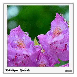 Violet Flower Wall Sticker