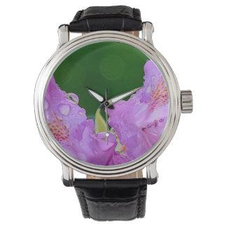 Violet Flower Watches