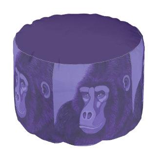 Violet Gorilla Pouf