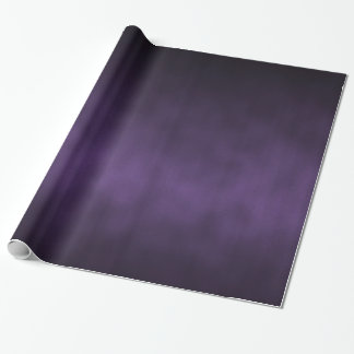 Violet Gothic Ombre Background Art Wrapping Paper