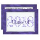 Violet Graduation | Purple Class of 2018 Party Card