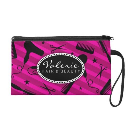 Violet Hair Salon Tools Wristlets