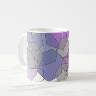 Violet Haze Hexagon Coffee Mug