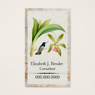 Violet Headed Hummingbird Business Cards