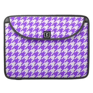Violet Houndstooth 1 MacBook Pro Sleeves