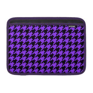 Violet Houndstooth 2 Sleeve For MacBook Air