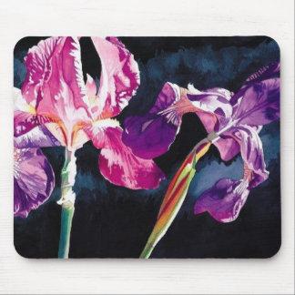 """""""Violet Iris"""" Floral by Paul Jackson Mouse Pad"""