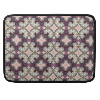 Violet Kaleidoscope Pattern Sleeve For MacBooks