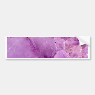 Violet Kryptonite Crystals Bumper Sticker