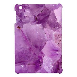 Violet Kryptonite Crystals iPad Mini Cover