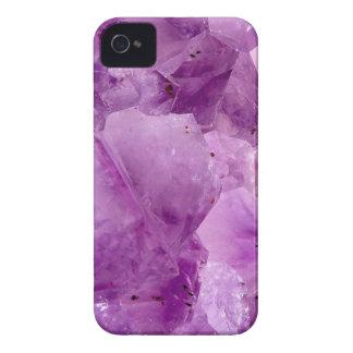 Violet Kryptonite Crystals iPhone 4 Covers