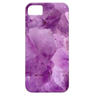 Violet Kryptonite Crystals iPhone 5 Case