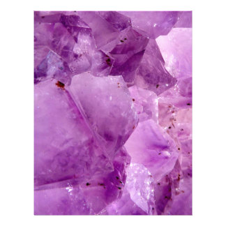 Violet Kryptonite Crystals Letterhead