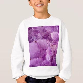 Violet Kryptonite Crystals Sweatshirt