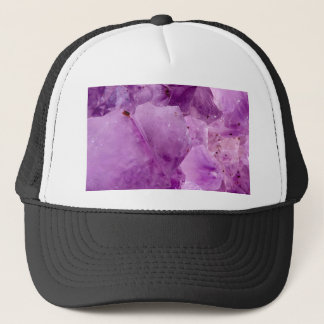 Violet Kryptonite Crystals Trucker Hat
