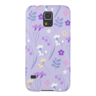 violet,lavender,cute,floral,pink,purple,pattern,gi galaxy s5 case