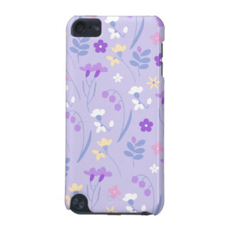 violet,lavender,cute,floral,pink,purple,pattern,gi iPod touch (5th generation) case