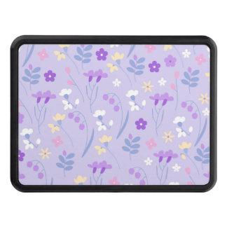 violet,lavender,cute,floral,pink,purple,pattern,gi trailer hitch cover