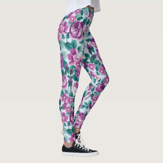 violet leggings