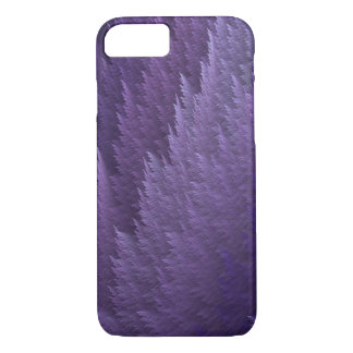 Violet Lilac Purple Tartan Feather Pattern Case