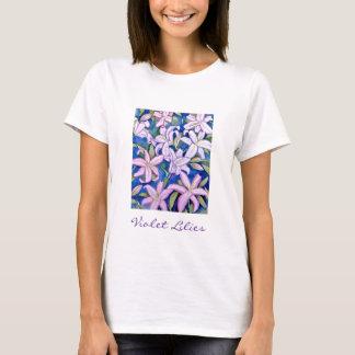 Violet Lilies T-Shirt