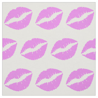 Violet Lips Fabric