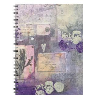 Violet Petals - Notebook