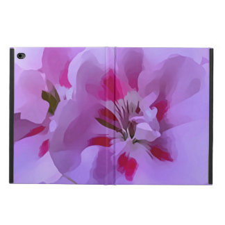 Violet Pink Abstract Hibiscus Flower Powis iPad Air 2 Case