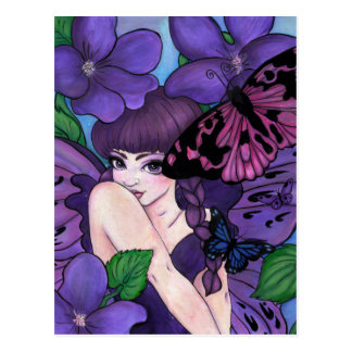 """""""Violet"""" postcard"""