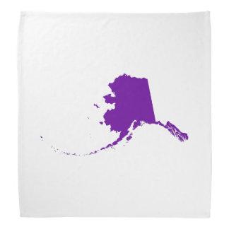 Violet Purple Alaska Bandana