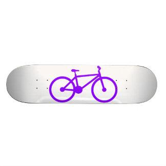 Violet Purple Bicycle Skate Board Deck