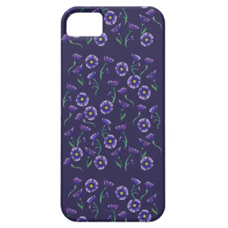 Violet Purple Flower Case For The iPhone 5