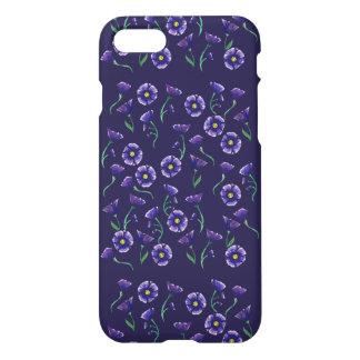 Violet Purple Flower iPhone 7 Case