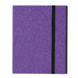 Violet / Purple Glimmer iPad Folio Case