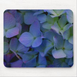 Violet purple hydrangeas mouse pad